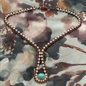Gorgeous jeweled necklace